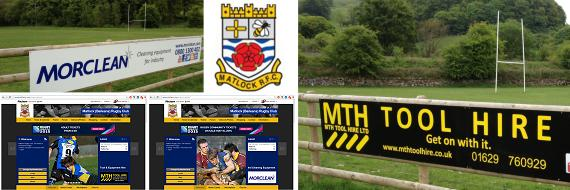 Peter Morley of Morclean and MTH Tool Hire sponsors Matlock Rugby throughout the season
